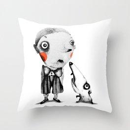 Tom & Gonzo  Throw Pillow