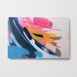 Even After All  #1 - Abstract on perspex by Jen Sievers Metal Print