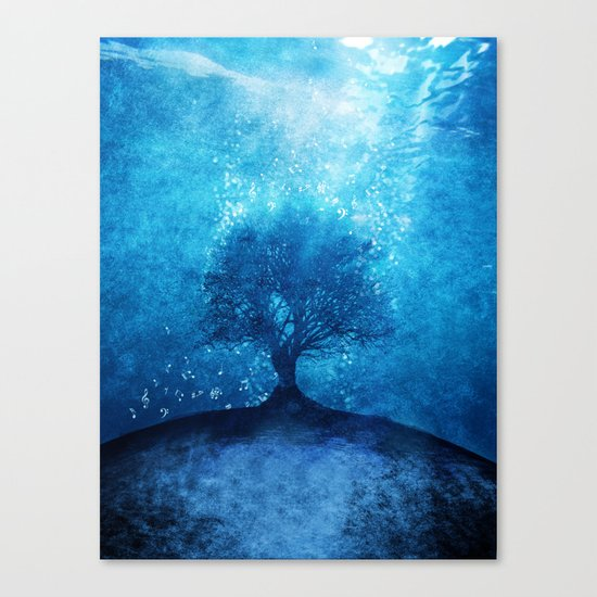 Songs from the sea. Canvas Print