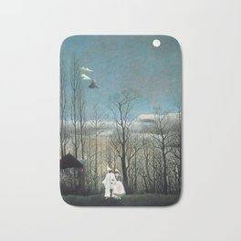 Henri Rousseau Carnival Evening Bath Mat