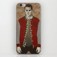 stiles iPhone & iPod Skins featuring Stiles Alpha by Sudjino