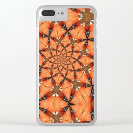 Carrier Waves Clear iPhone Case