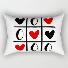 XO LOVE HEART SPECIAL - Valentines Day Rectangular Pillow