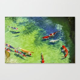 Fish watercolor IV Canvas Print