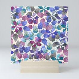 watercolor Botanical garden II Mini Art Print