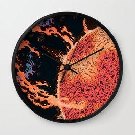 Cosmic Chaos - Solar Ir Wall Clock