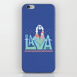 One Lava iPhone Skin