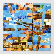 Geoffrey (stripes 18) Canvas Print