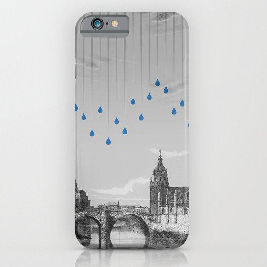La lluvia en Bilbao es una pura maravilla iPhone & iPod Case