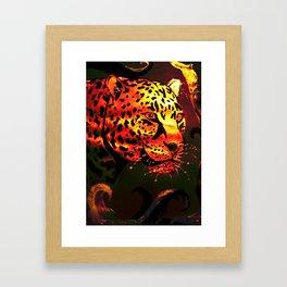 Metallic Glow Framed Art Print