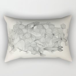Embrace your randomness Rectangular Pillow
