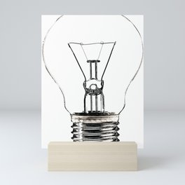 I Have an Idea!  Let there be light... Mini Art Print