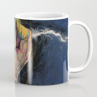 lightning Mugs featuring Lightning by Michael Creese