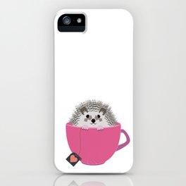 Valentine Heart Hedgehog iPhone Case
