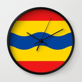 Flag of Overijssel Wall Clock