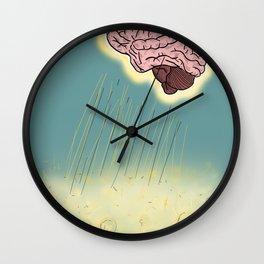 Rain of ideas Wall Clock