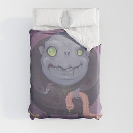 Blob Zombie Duvet Cover