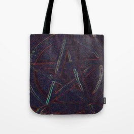 Cosmic Pentagram Tote Bag