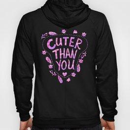 Cuter Than You Plaid Hoody