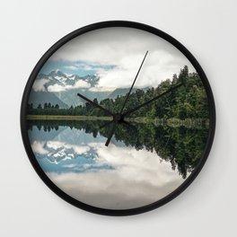 Lake Matheson, Westland Wall Clock