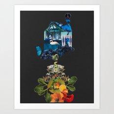 Chakra Flow Art Print