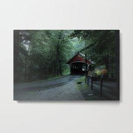 A Mountain Road Metal Print