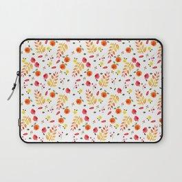 Floral Autumn Pattern Laptop Sleeve