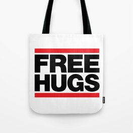 Free Hugs - Black Tote Bag
