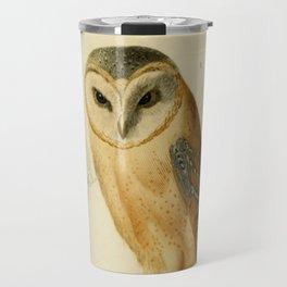 Naturalist Barn Owl Travel Mug