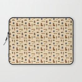 Pattern: Wheat Way Laptop Sleeve