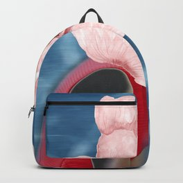 Blooming portrait Backpack