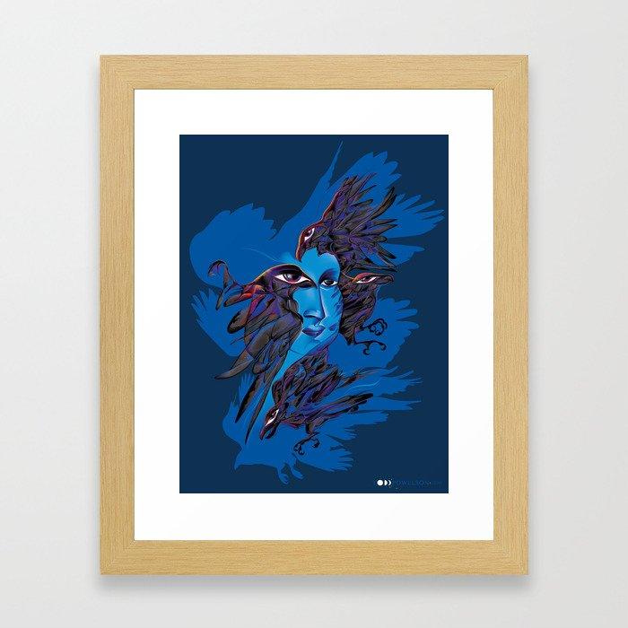 Psychopomp Framed Art Print