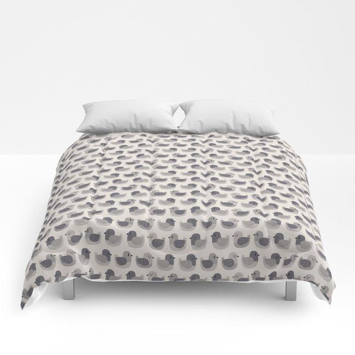 Cute Simple Pigeons Comforters