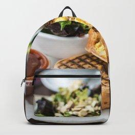 Vancouver breakfast burrito Backpack