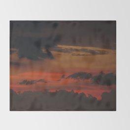 A Sky On Fire - 2 Throw Blanket