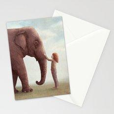 One Amazing Elephant - Back Cover Art Stationery Cards