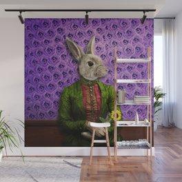 Miss Bunny Lapin in Repose Wall Mural