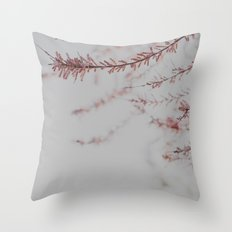 Soft Dusty Pink Lullaby Throw Pillow