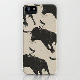 Bullhorns iPhone Case