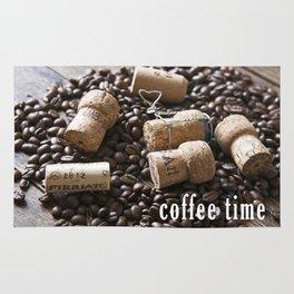 Cork & Coffee Rug