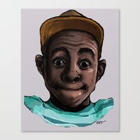 tyler the creator Canvas Prints featuring Tyler The Creator by ASHUR Collective™