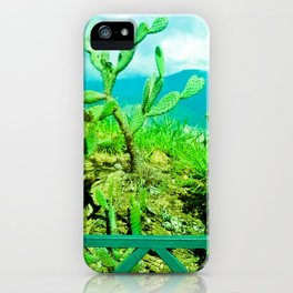 Hostility and coldness. iPhone Case