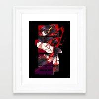 kill la kill Framed Art Prints featuring Kill La Kill by feimyconcepts05