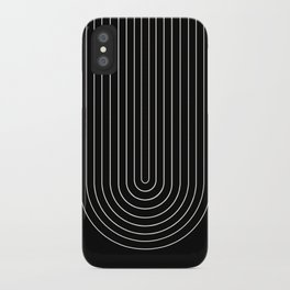 Minimalist Arch III iPhone Case