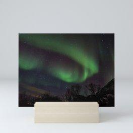 Aurora borealis Mini Art Print
