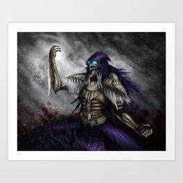 Dark Sorcerer Art Print