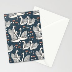 Origami Swans by Andrea Lauren Stationery Cards