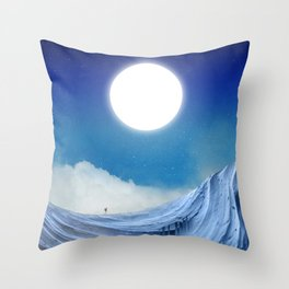 To dust Throw Pillow