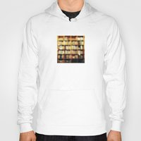 bokeh Hoodies featuring Book Bokeh by Kevin Russ