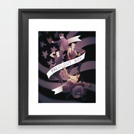 Poster Boys For Your Scene Framed Art Print